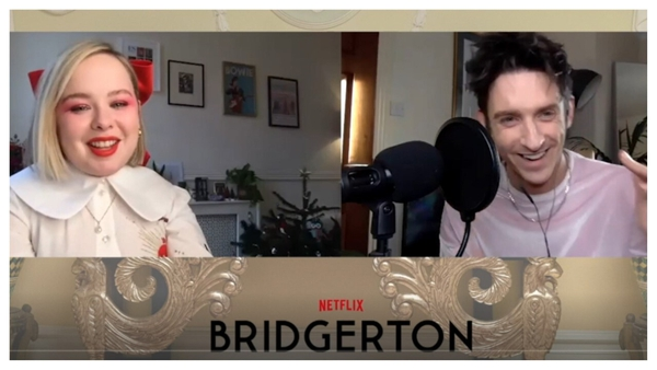 Stephen Byrne chats to Nicola Coughlan of Derry Girls about Netflix's new drama Bridgerton