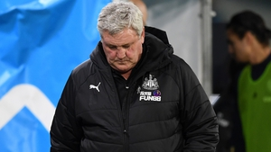 Steve Bruce was under intense pressure at the club