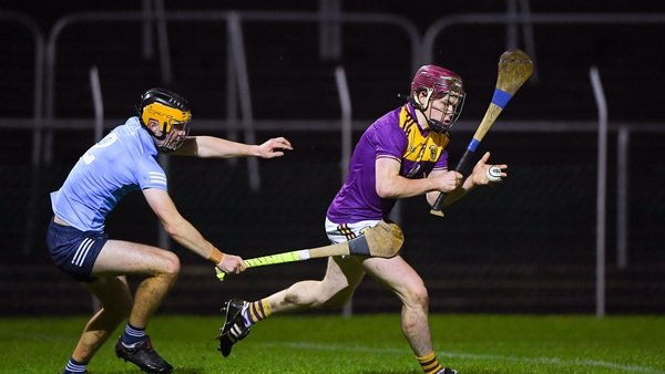 Sean O'Connor of Wexford in action against Tommy Kinnane of Dublin