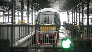 Trains back from Dublin on Sunday evening are also sold out, Iarnród Éireann has said