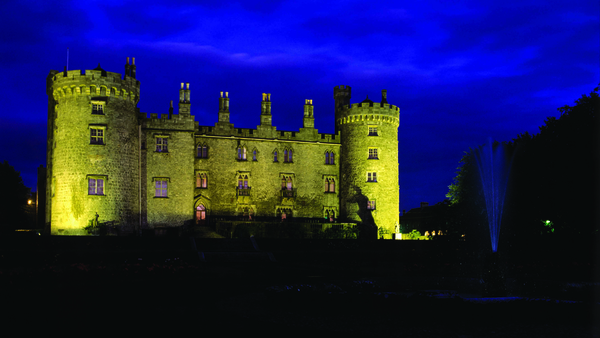 Kilkenny Castle, which was developed by William Marshal in the 1190s
