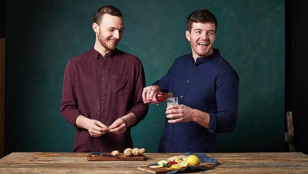Emmett Kerrigan & Keith Loftus co-founders of All About Kombucha