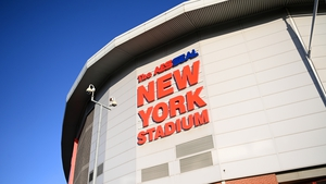 The game at the New York Stadium was called off just 90 minutes before kick-off