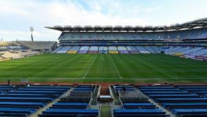 Croke Park has lain empty since last December's All-Ireland finals