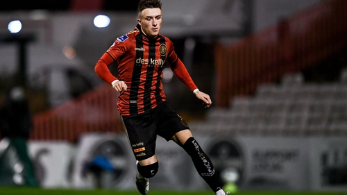 Danny Grant in action with Bohs