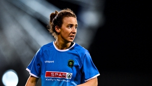 Karen Duggan scored in Peamount's Cup final win