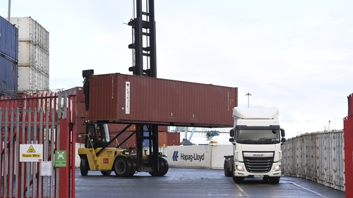 New traffic measures and infrastructure have been put in place at Dublin Port ahead of the UK leaving the EU tomorrow night