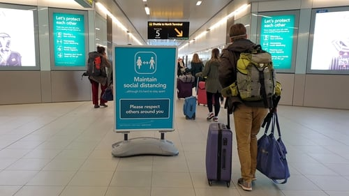 Seats are being made available to Irish-bound passengers who are transiting through British airports