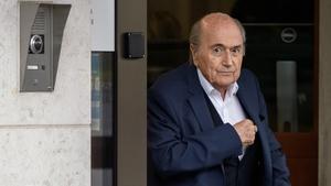 Former president of FIFA Sepp Blatter