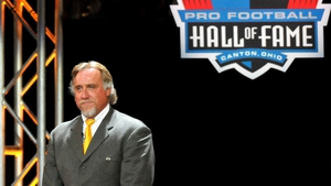 Kevin Greene was inducted into the Pro Football Hall of Fame in 2016