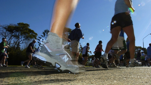 People have flocked to the roads to take up running in 2020