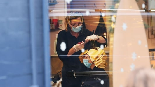 Scissors at the ready - salons get the green light to open