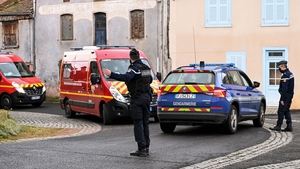 Police reinforcements and firefighters were called to the scene