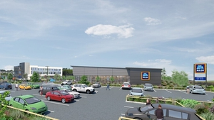 An artist's impression of the new Aldi store in Clonakilty