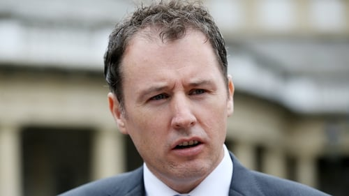 Charlie McConalogue is said to be well and has no symptoms (File pic)