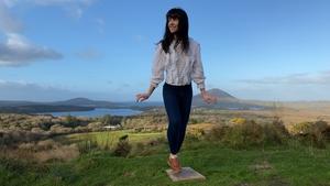 Champion sean-nós dancer Emma O'Sullivan in Connemara