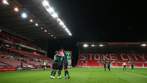 Spurs could do it on a wintry Wednesday in Stoke