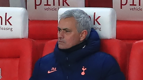 Jose Mourinho insists he is relishing the pressure