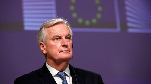 Michel Barnier said the Northern Ireland peace process was 'very fragile'
