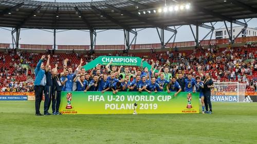 Ukraine won the U20 World Cup in 2019