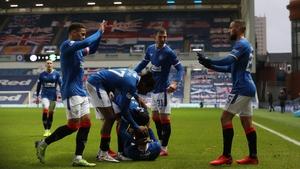 Ianis Hagi's strike earned the Scottish Premiership leaders a 1-0 victory over Hibs