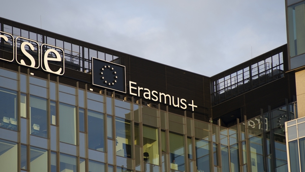 Around 1,000 Irish students are estimated to be on Erasmus programmes across the EU