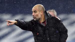 Guardiola's side haven't lost a Premier League game since November