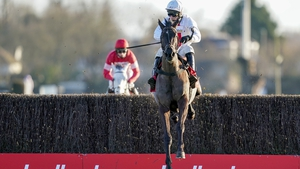 Nube Negra recorded the biggest victory of his career as Altior laboured on his return to action