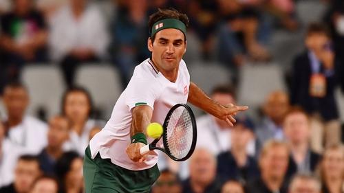 Roger Federer is on the mend