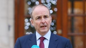 Taoiseach Micheál Martin addressed the Dublin Chamber of Commerce's AGM today