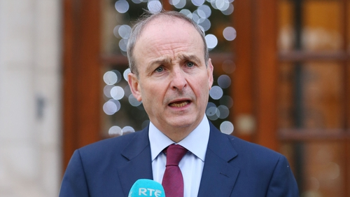 Micheál Martin said NPHET advice has been against the 'zero-Covid' approach
