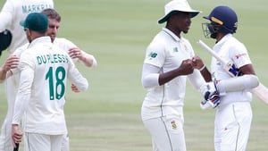 The second Test takes place in Johannesburg on Sunday
