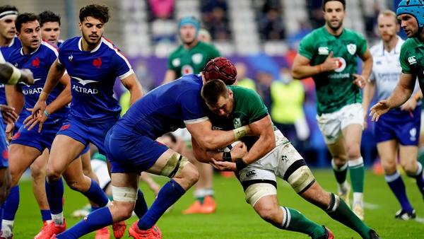 Ireland won three from five in the Six Nations in 2020