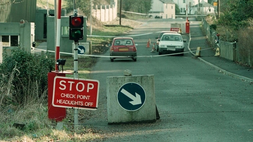 The Co Armagh checkpoint where Lance Bombardier Stephen Restorick, 23, was shot dead in February, 1997