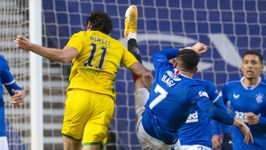 Hibernian boss Jack Ross claimed Willie Collum should have given his side a penalty against Rangers