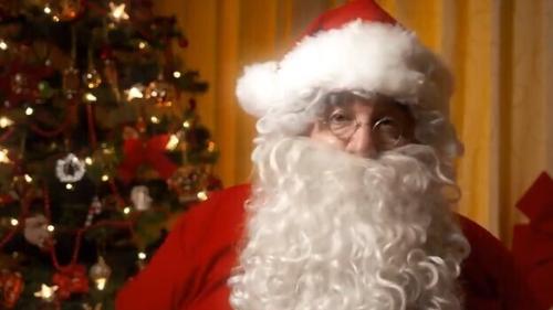 Santa made a special appearance on the Christmas Eve RTÉ Six One News