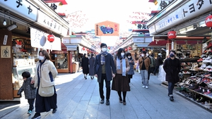Japan, the world's third-largest economy is showing signs of gradually overcoming last year's pandemic hit