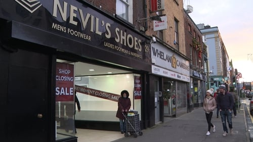 Nevil's shoes based on O'Connell Street in Limerick was a very popular shoe-sales business in the city centre for the past 34 years