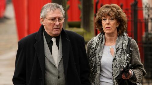Mark Eden pictured with actress Sue Nicholls