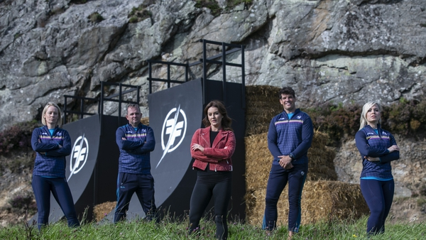 Derval O'Rourke, Davy Fitzgerald, Mairead Ronan, Donncha O'Callaghan and Anna Geary are back on the box tonight in Ireland's Fittest Families