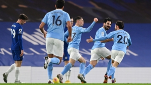 City impressed in a 3-0 win over Chelsea on Sunday