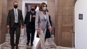 The US House of Representatives voted to reinstate Nancy Pelosi as speaker