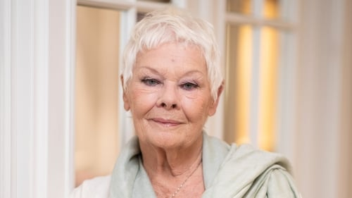 """Judi Dench: """"I hope audiences will have a lovely time and have a laugh and be transported for a bit so that they can forget the things they're worried about, like Brexit."""""""