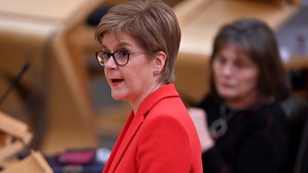 A parliamentary committee says Nicola Sturgeon misled it