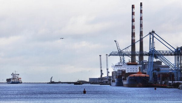 Revenue says that there are very low levels of trade at Dublin Port (Pic: RollingNews.ie)
