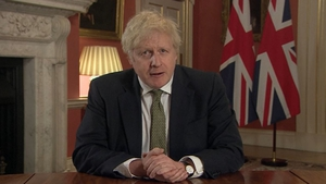 Boris Johnson said the new variant of Covid-19 was spreading in an 'alarming' manner
