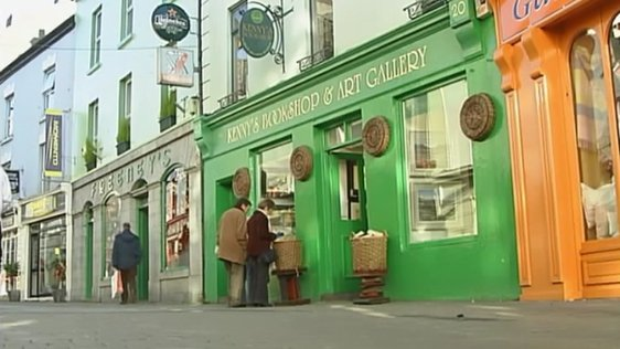 Kenny's Bookshop in Galway, 2006.