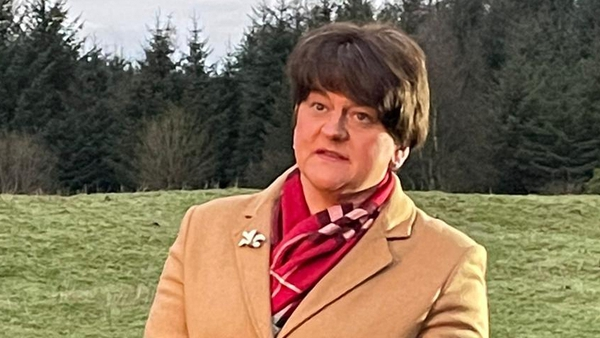 Arlene Foster described the meeting as 'hugely disappointing'