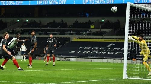 Sissoko scored his first goal of the season