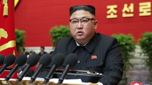 Kim Jong-un addressed a congress of the ruling Workers' Party